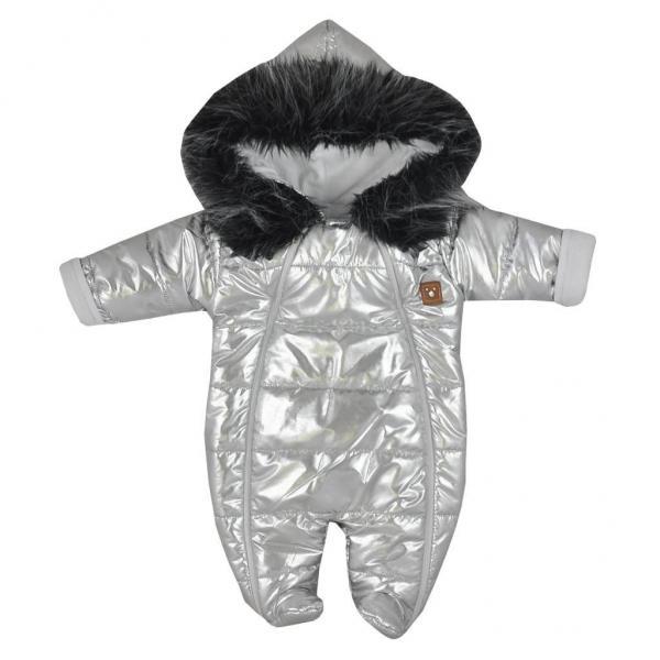 Zimní kojenecká kombinéza s kapucí Koala Lara