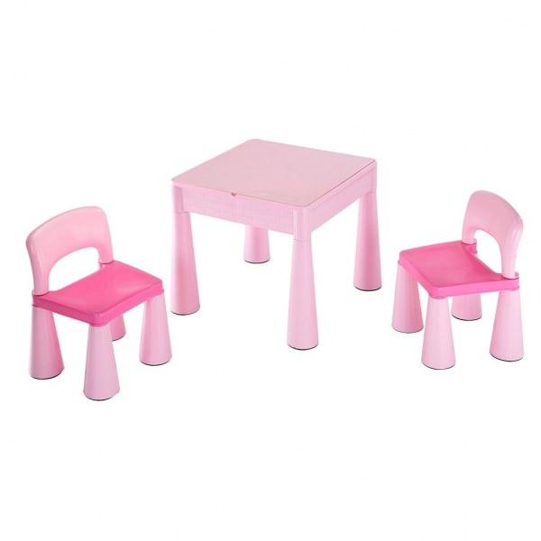 Dětská sada stoleček a dvě židličky NEW BABY