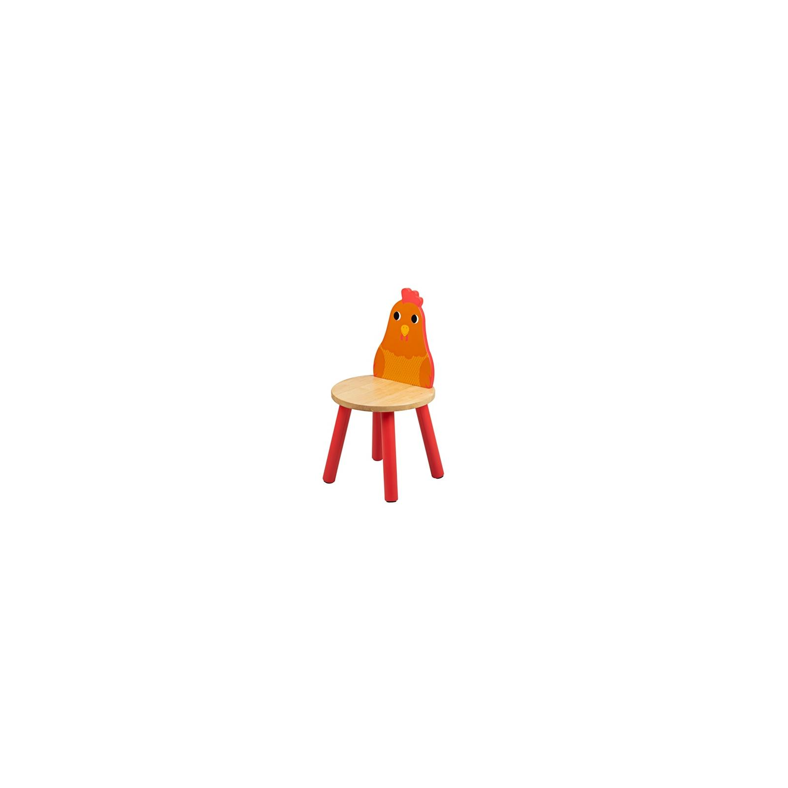 Tidlo Dřevěná židle kuřátko