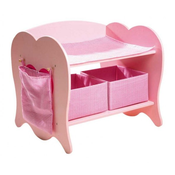 Small Foot Dřevěný přebalovací pult pro panenky