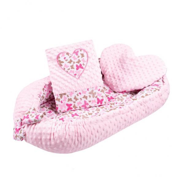 Luxusní hnízdečko s polštářkem a peřinkou New Baby