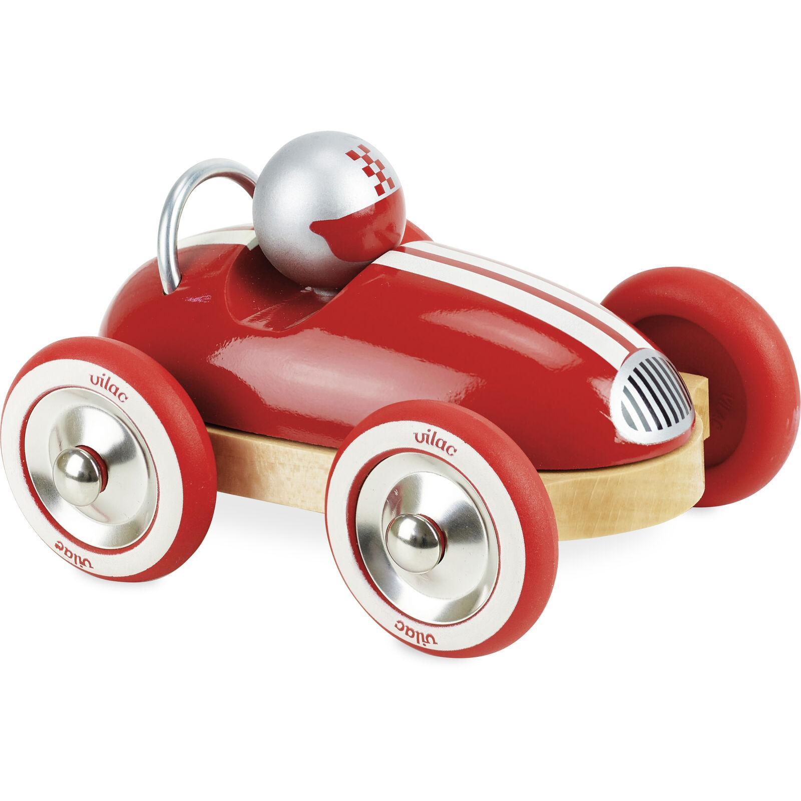 Vilac Dřevěné auto Roadster vintage červené