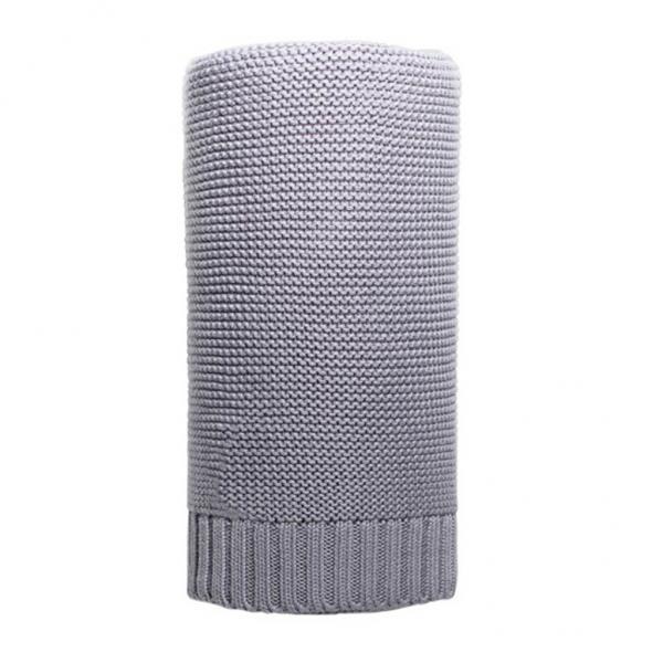 Bambusová pletená deka NEW BABY 100x80 cm