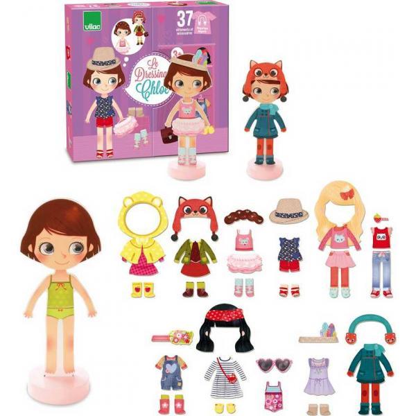 Vilac Magnetické oblékací puzzle Chloe