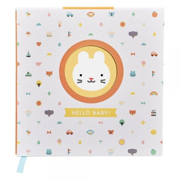 Petitcollage Kniha Bunny Baby