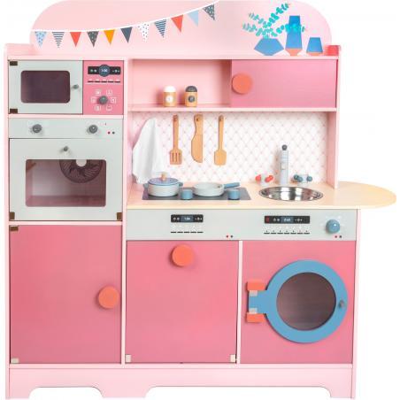 Small Foot Dřevěná kuchyňka Gourmet růžová