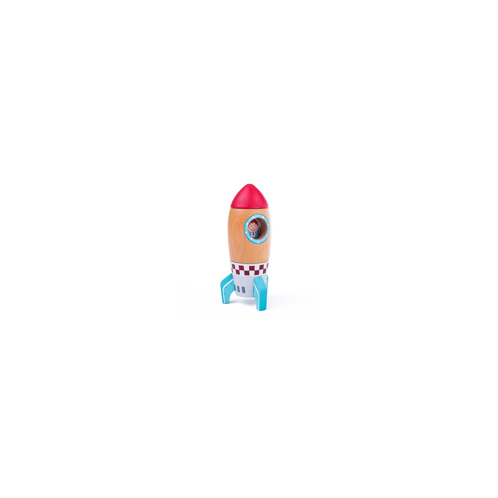 Bigjigs Toys Dřevěná raketa